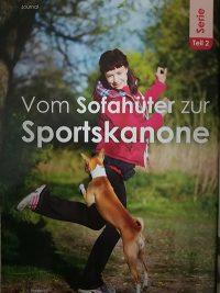 Titelbild der HundeWelt, Ausgabe 04/18-Vom Sofahüter zur Sportskanone