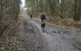 Walkingrunde mit dem Pro-X Walker im Stadtwald Achim