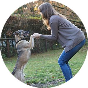 Fitnesstraining mit Hund: Jane und Bella